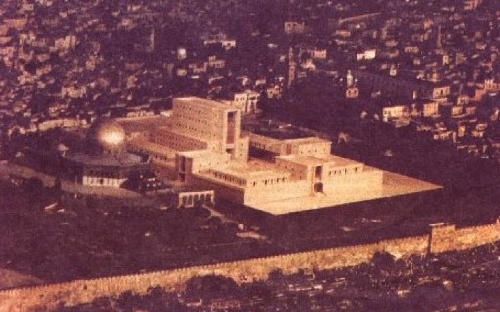 Arab leaders endorse a building of the Jewish Temple