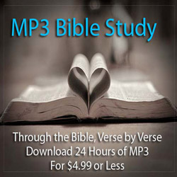 MP3 Bible Commentary for $4.99 or Less