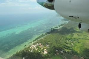 Emerald green waters of Bantayan Island